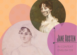 Jane Austen in Context Image