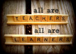 """All are Teachers, All are Learners"""
