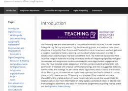 Teaching Repository screenshot